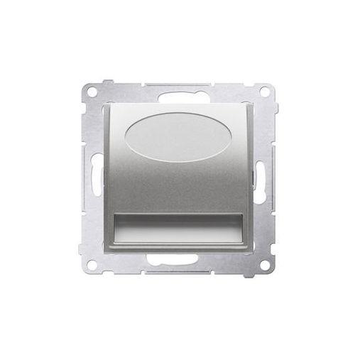 Oprawa oświetleniowa Simon 54 DOS14.01/43 schodowa LED 14V srebrny mat Kontakt-Simon