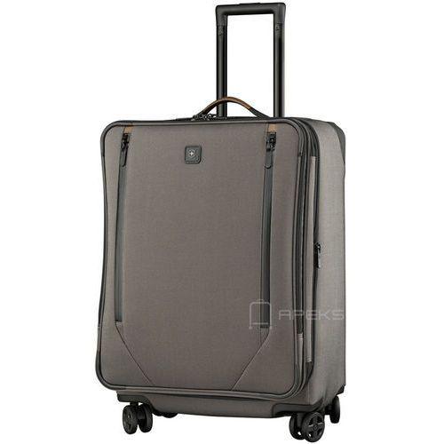Victorinox Lexicon 2.0 średnia poszerzana walizka 67 cm / szara - Grey (7613329018118)
