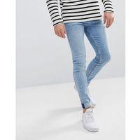 Weekday form ratio blue super skinny jeans - blue
