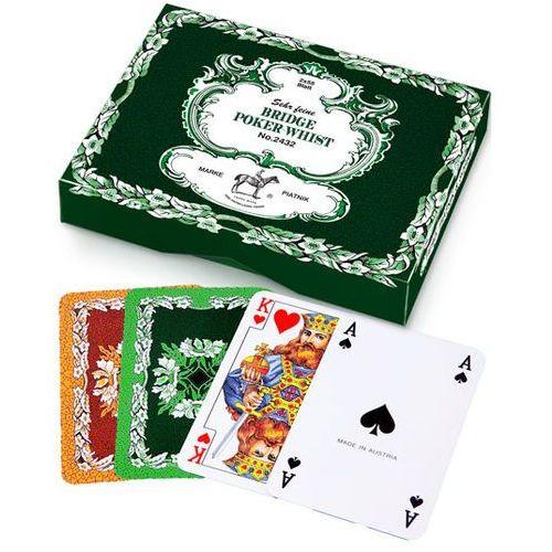 OKAZJA - Karty piatnik no.2432 bridge poker whist marki Wydawnictwo magdalena jassem