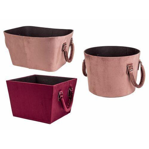 Melinera® pudełko ozdobne z aksamitu