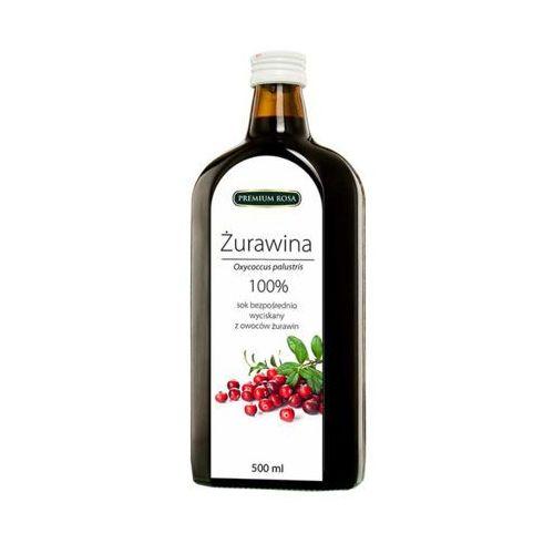 Premium rosa  500ml żurawina sok 100%