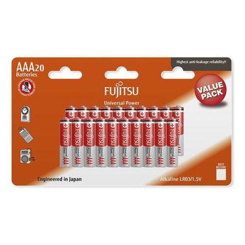 20 x bateria alkaliczna universal power lr03 aaa blister marki Fujitsu
