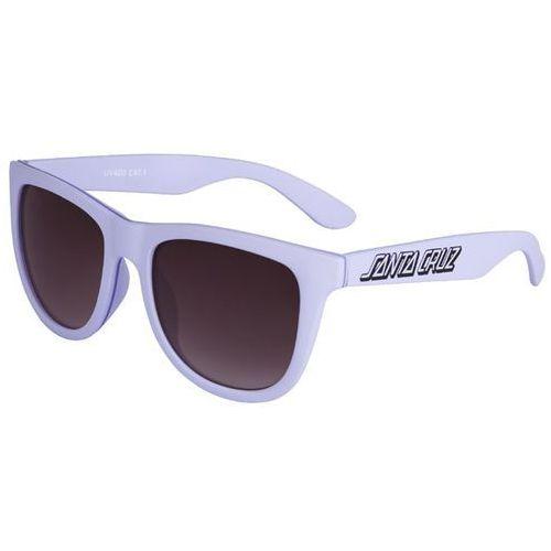 Okulary słoneczne - classic strip sunglasses lilac (lilac) rozmiar: os marki Santa cruz