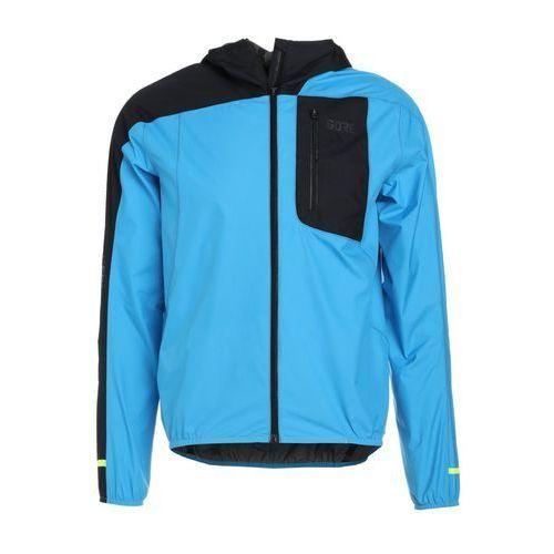 r7 windstopper light kurtka do biegania dynamic cyan/black marki Gore wear