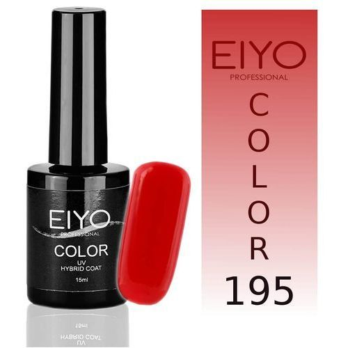 Lakier hybrydowy EIYO Elegance - Żywa Czerwień - 195 - 15 ml