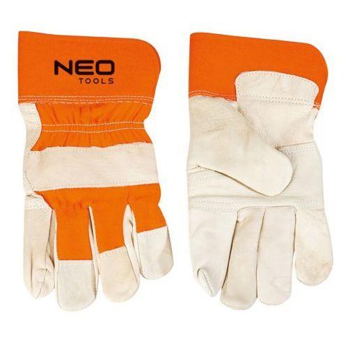 Rękawice robocze NEO 97-602 Biało-pomarańczowy (Rozmiar 10.5) (5907558406825)