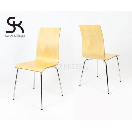 skd005 nat krzesło naturalne drewno - drewno naturalne marki Sk design