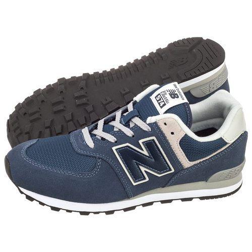 Buty New Balance GC574GV Granatowe (NB237-c), kolor niebieski