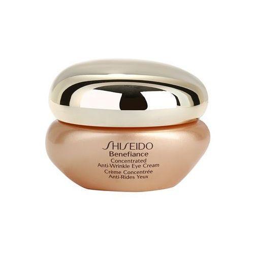 Shiseido Benefiance Benefiance krem pod oczy przeciw opuchnięciom i cieniom (Concentrated Anti-Wrinkle Eye Cream) 15 ml