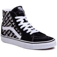 Sneakersy - sk8-hi vn0a4u3ctez1 (logo repeat) blk/true wht marki Vans
