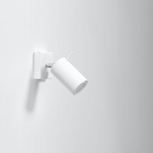 Kinkiet RING biały (5902622425863)