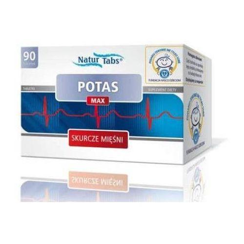 Tabletki POTAS MAX NATURTABS x 90 tabletek