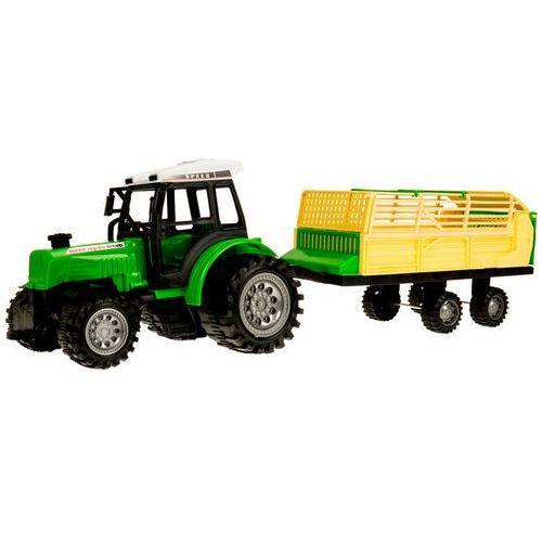 Traktor z przyczepą-rozrzutnik 666-52b marki Kindersafe