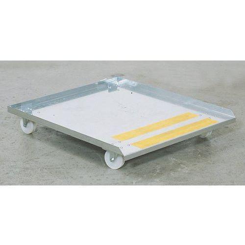 Wózek na rolkach, do stołu do czyszczenia biologicznego KOMPAKT, dł. x szer. 890