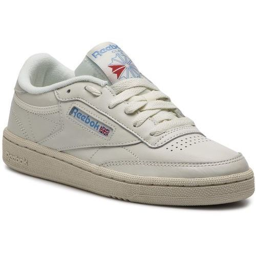 Buty - club c 85 v69406 chalk/pprwhite/blue/red marki Reebok