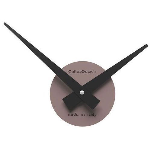 Zegar ścienny Botticelli mały CalleaDesign szara śliwka (10-311-34)