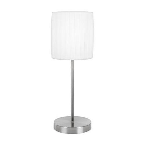 Globo  la nube lampa stołowa nikiel matowy, biały, 1-punktowy (9007371197330)