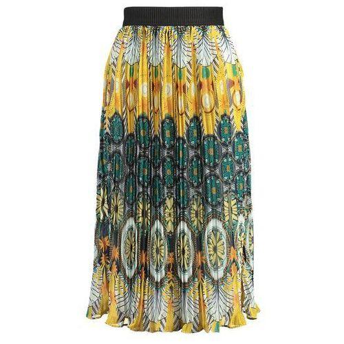 ladies skirt spódnica ołówkowa saffron yellow marki Molly bracken