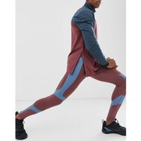 running tights with compression bonded panels - multi, Asos 4505, XS-XL