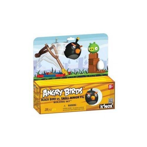 72603 Klocki K'nex Angry Birds, Czarny Ptak i Mała Świnia