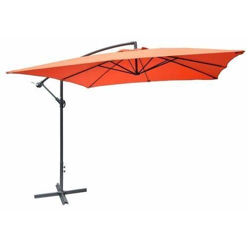 Rojaplast parasol ogrodowy 8080 (270x270cm) terracotta (8595226707236)