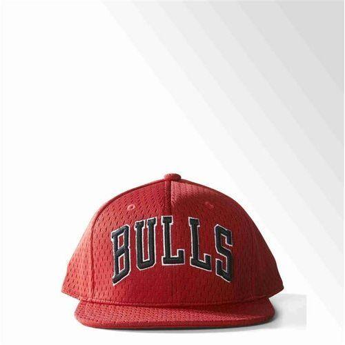 Adidas Czapka z daszkiem - nba mesh bulls panton/bla (panton bla) rozmiar: osfl