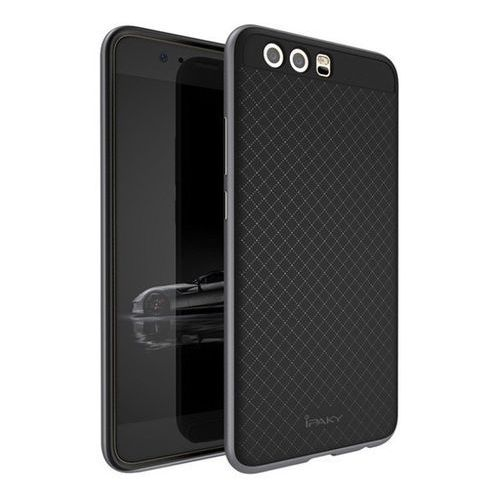 Etui iPaky Premium Hybrid Huawei P10 Grey + Szkło, kolor szary