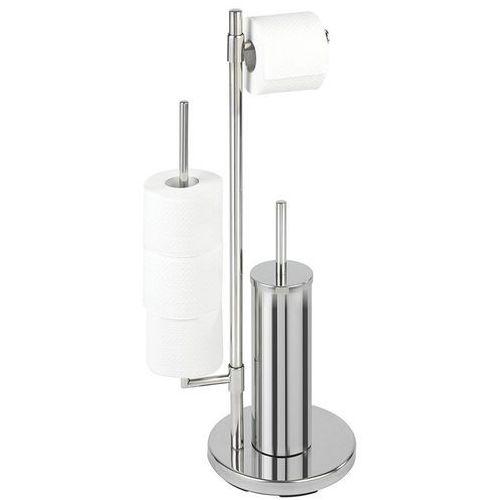 Stojak na papier toaletowy i szczotkę do wc, universalo neo - 3 w 1, marki Wenko
