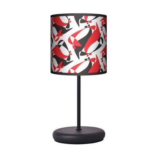 Lampa stojąca eko - black red white marki Fotolampy