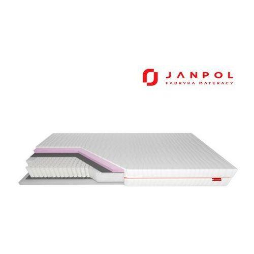 Janpol niobe – materac multipocket, sprężynowy, rozmiar - 200x190, pokrowiec - smart wyprzedaż, wysyłka gratis, 603-671-572