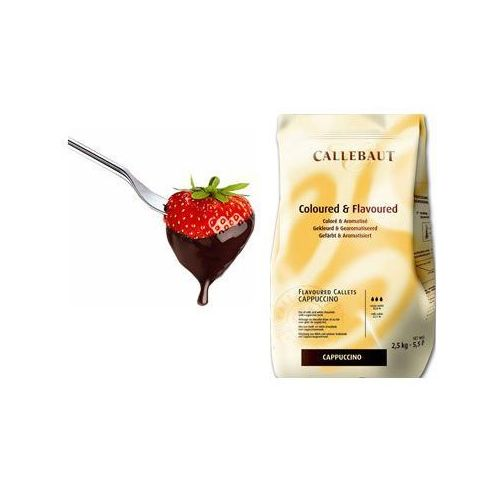 Czekolada cappuccino do fondue oraz fontann   2,5 kg
