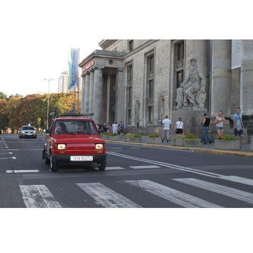 Prowadź i zwiedzaj - wycieczka po Warszawie Fiatem 126p - Śladami PRL-u - 3 osoby - produkt z kategorii- Upominki