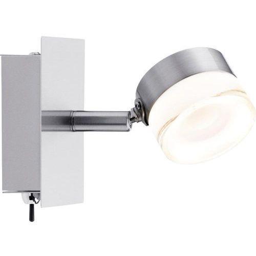 Lampa punktowa Paulmann 60377;LED wbudowany na stałe, 258 lm, 3000 K, (SxWxG) 11 x 11 x 130 cm, żelazowy (szczotkowany), Slice