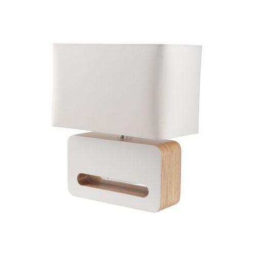 Zuiver Lampa stołowa WOOD biała 5000803