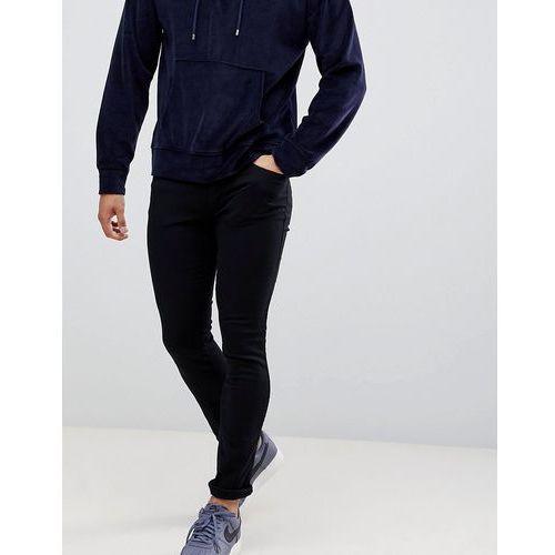 Hugo 734 skinny fit jeans in black - black