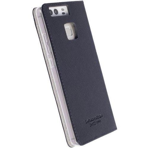 Krusell  malmo 4 card foliocase - etui huawei p10 plus z kieszeniami na karty + stand up (czarny) (7394090610090)