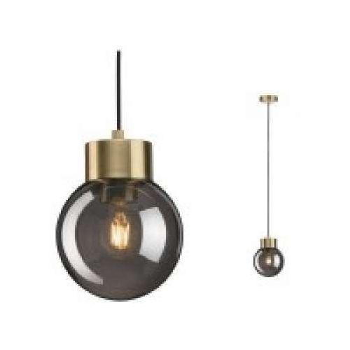 Oprawa wisząca linja 1-lampowa szkło dymowe lustrzane / mosiężne, 79743 marki Paulmann