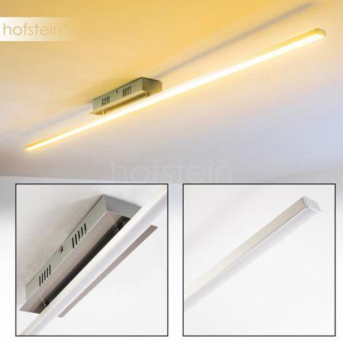 Hofstein Casale lampa sufitowa led stal szczotkowana, 1-punktowy - nowoczesny - obszar wewnętrzny - deckenleuchte - czas dostawy: od 3-6 dni roboczych (4260303167329)