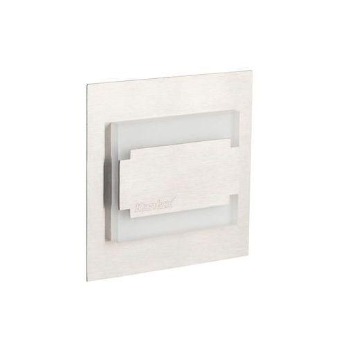 Kanlux terra mini 23105 oczko lampa ścienna wpuszczana 1x0,8w 12v led białe