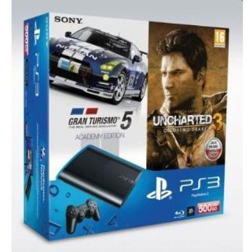 Konsola Sony PlayStation 3 Super Slim 500GB