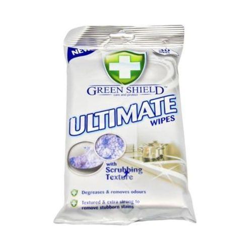 Green shield 30szt ultimate chusteczki do twardych powierzchni