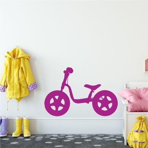 Wally - piękno dekoracji Naklejka na ścianę rowerek dziecięcy 2316