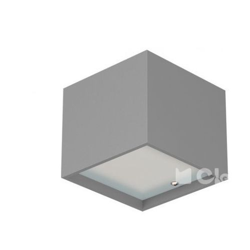 Kinkiet kubik c2kh bez przesłon żarówka led gratis!, t049c2kh+ marki Cleoni