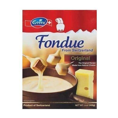 Ser szwajcarski do FONDUE firmy Emmi 2 x 400g (0781068798299)