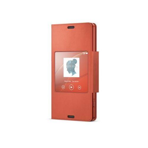 Etui SONY SCR26 do Xperia Z3 Copmact Pomarańczowy + DARMOWA DOSTAWA + Odbiór w 800 punktach Stacji z paczką! (7311271480259)