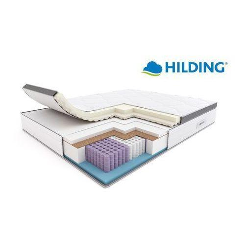 electro – materac multipocket, sprężynowy, rozmiar - 80x200, pokrowiec - tencel new najlepsza cena, darmowa dostawa marki Hilding