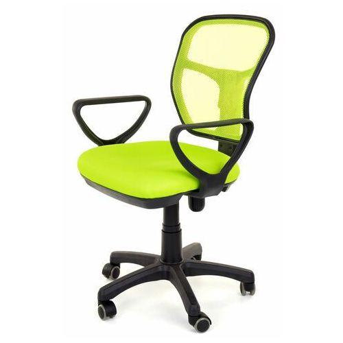 Fotel obrotowy wentylowany - model 8906 - zielony (5908239692803)