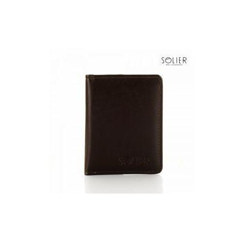 Slim wallet etui na dokumenty , marki Solier