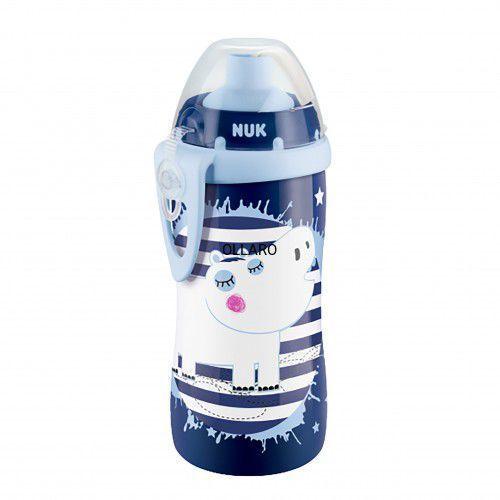 Kubek z słomką bidon 300 ml hipcio NUK flexi cup, 14E5-49142